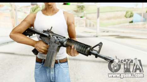 AR-15 for GTA San Andreas third screenshot