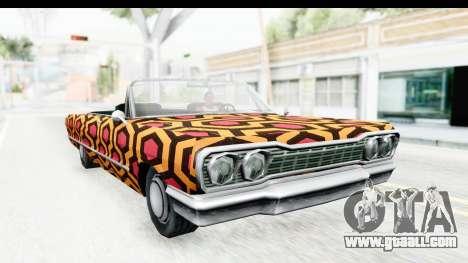 Savanna New PJ for GTA San Andreas back left view