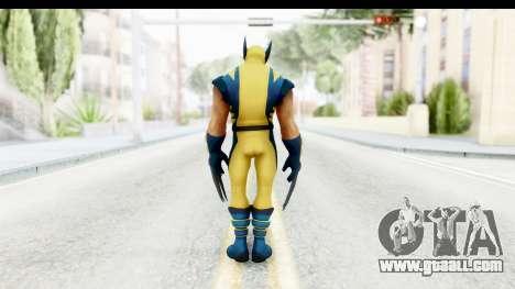Marvel Heroes - Wolverine Modern for GTA San Andreas third screenshot