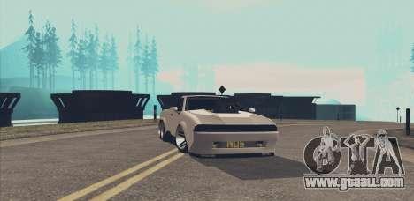 Elegy Ibragim for GTA San Andreas back view