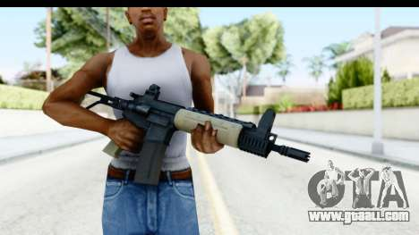 LR-300 Tan for GTA San Andreas third screenshot