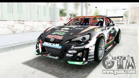D1GP Toyota 86 2015 DRIVE for GTA San Andreas right view