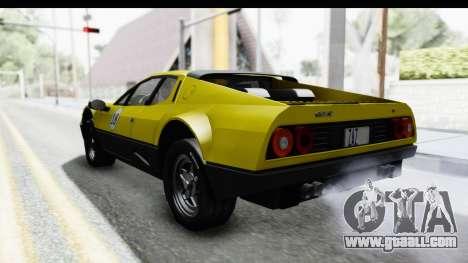 Ferrari 512 GT4 BB 1976 for GTA San Andreas