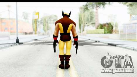 Marvel Heroes - Wolverine Brown for GTA San Andreas third screenshot