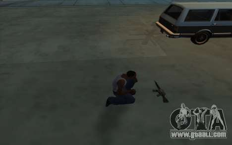Possession of weapons for GTA San Andreas third screenshot