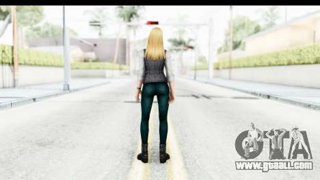 Marvel Future Fight - Sharon Carter (Civil War) for GTA San Andreas third screenshot