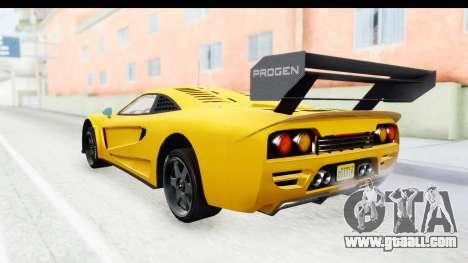 GTA 5 Progen Tyrus IVF for GTA San Andreas left view