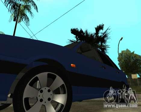 VAZ 21015 ARMENIAN for GTA San Andreas wheels