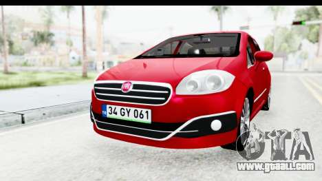 Fiat Linea 2015 v2 for GTA San Andreas right view