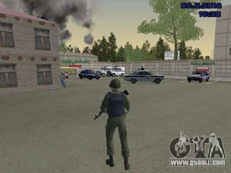 The driver of the MIA for GTA San Andreas third screenshot
