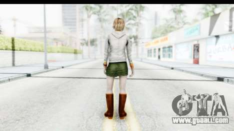 Silent Hill Downpour - Heather for GTA San Andreas third screenshot