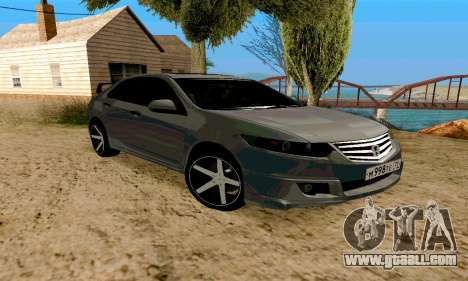 Honda Accord Type 2008 for GTA San Andreas back left view
