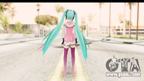 Project Diva F - Hatsune Miku Vocal Star Remade for GTA San Andreas third screenshot
