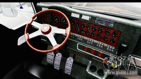 Kenworth T800 Centenario Studio Sleeper Toys for GTA San Andreas inner view