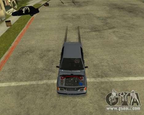 VAZ 21015 ARMENIAN for GTA San Andreas bottom view