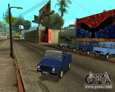 Luaz 969 Armenian for GTA San Andreas engine
