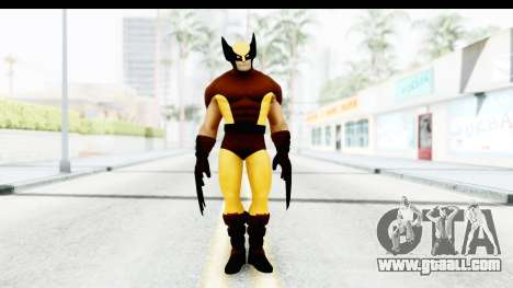 Marvel Heroes - Wolverine Brown for GTA San Andreas second screenshot