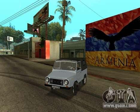 Luaz 969 Armenian for GTA San Andreas