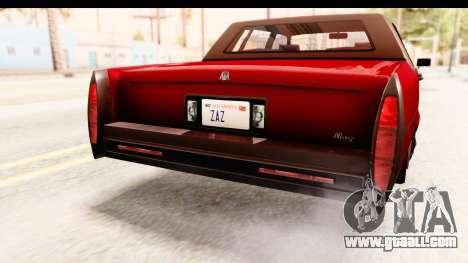 GTA 5 Albany Emperor IVF for GTA San Andreas interior
