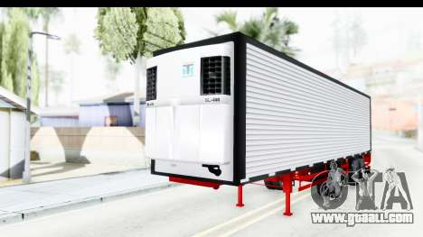 Trailer with Axle for GTA San Andreas right view