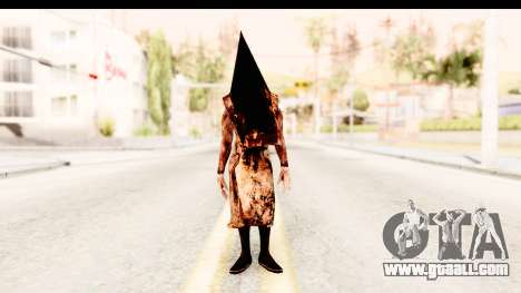 Silent Hill Downpour - Pyramid Head for GTA San Andreas second screenshot