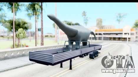 Trailer Brasil v7 for GTA San Andreas right view