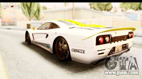 GTA 5 Progen Tyrus SA Style for GTA San Andreas wheels