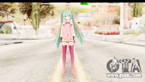 Project Diva F - Hatsune Miku Vocal Star Remade for GTA San Andreas second screenshot