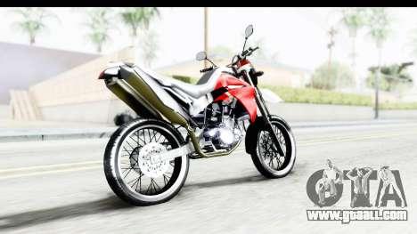 Yamaha XT 660R for GTA San Andreas left view