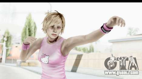 Silent Hill 3 - Heather Sporty Light Pink HK for GTA San Andreas