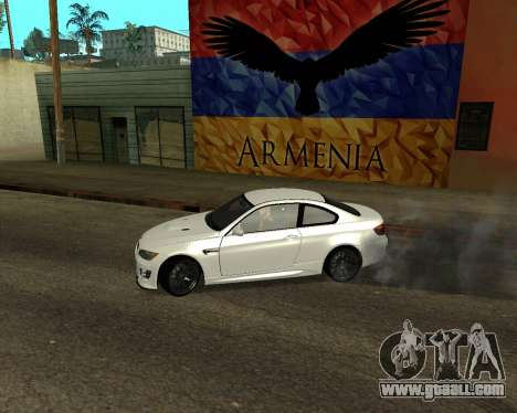 BMW M3 Armenian for GTA San Andreas back left view