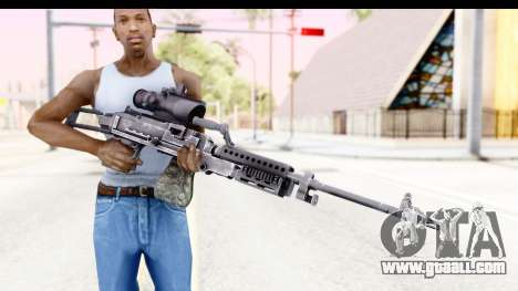 M240 FSK No Bipod for GTA San Andreas third screenshot