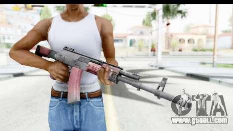 Kalashnikov AK-12 for GTA San Andreas third screenshot