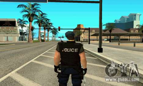 Trainer SWAT for GTA San Andreas second screenshot