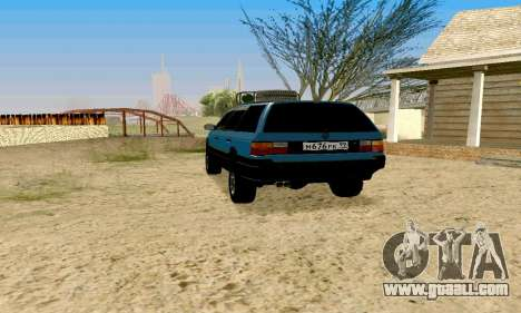 Volkswagen B3 for GTA San Andreas left view