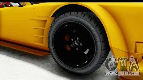 GTA 5 Declasse Drift Tampa for GTA San Andreas back view