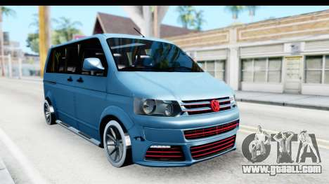Volkswagen Caravelle for GTA San Andreas right view