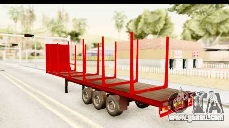 Trailer Fruehauf for GTA San Andreas right view