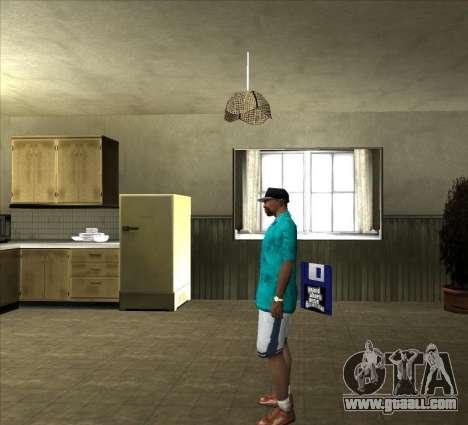 Shirt Tommy for GTA San Andreas third screenshot