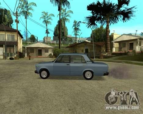 VAZ 2107 Armenian for GTA San Andreas inner view