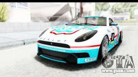 GTA 5 Ocelot Lynx SA Lights for GTA San Andreas side view