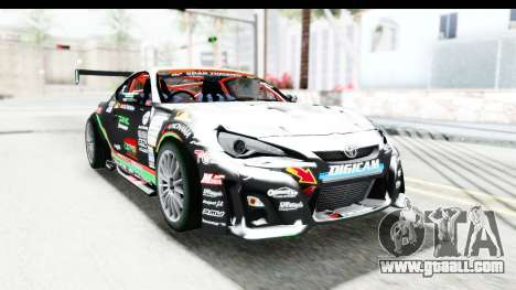 D1GP Toyota 86 2015 DRIVE for GTA San Andreas