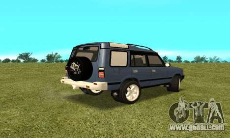 Land Rover Discovery 2B for GTA San Andreas left view