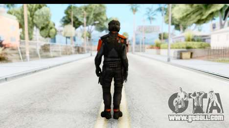 Homefront The Revolution - KPA v4 Black for GTA San Andreas third screenshot
