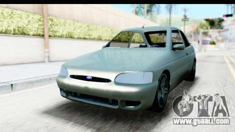Ford Escort RS Cosworth 2016 for GTA San Andreas right view