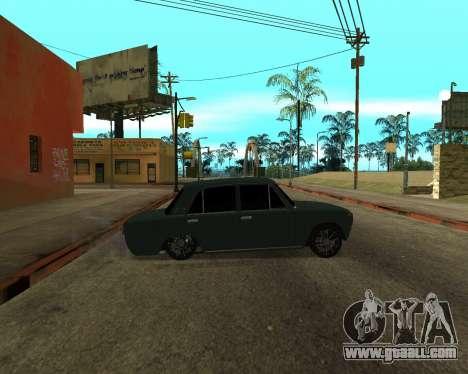 VAZ 2101 Armenian for GTA San Andreas inner view
