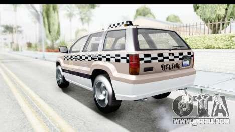 GTA 5 Canis Seminole Taxi Saints Row 4 for GTA San Andreas right view