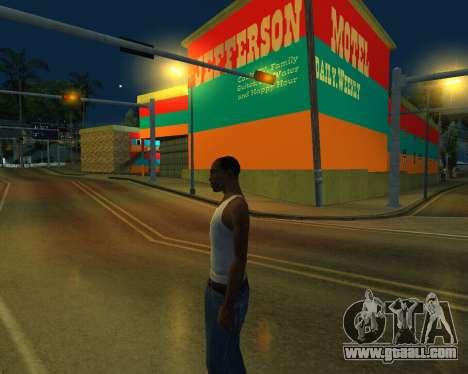 Armenian Jeferson for GTA San Andreas second screenshot