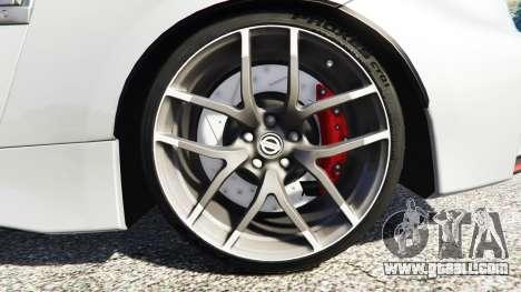 GTA 5 Nissan 370Z Nismo Z34 2016 [replace] rear right side view