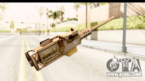 M2 Browning for GTA San Andreas second screenshot